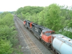 CN 5757 headed for Dundas